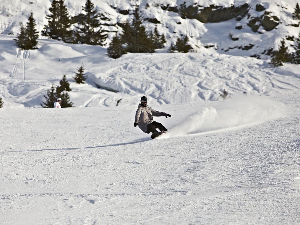Open and quiet pistes
